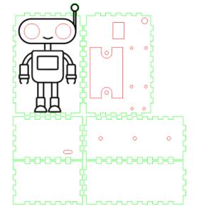 """Чертеж проекта """"Подсчет количества посетителей и автоматическое управление светом на Arduino"""""""