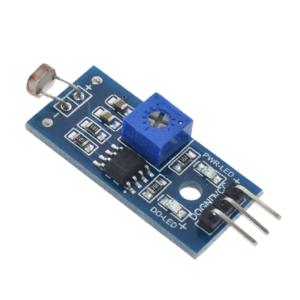 Датчик света на фоторезисторе