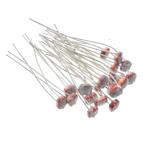 Фотопроводящий резистор (фоторезистор) LDR 5 мм x 5528