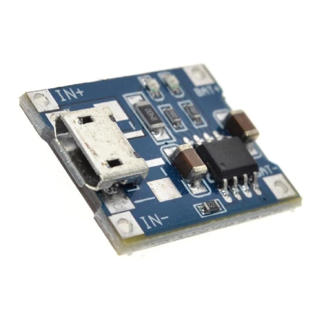Зарядный модуль на TP4056 5V 1A для 18650
